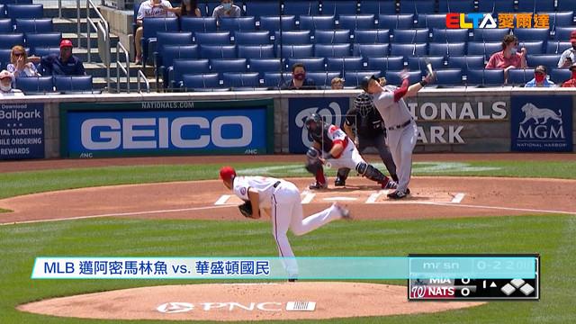 【MLB看愛爾達】薛澤趕時間完投 助國民捕魚四連勝 05/03