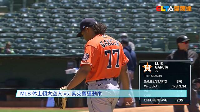 【MLB看愛爾達】布萊格曼3安2打點 太空人攻上美西龍頭 05/21