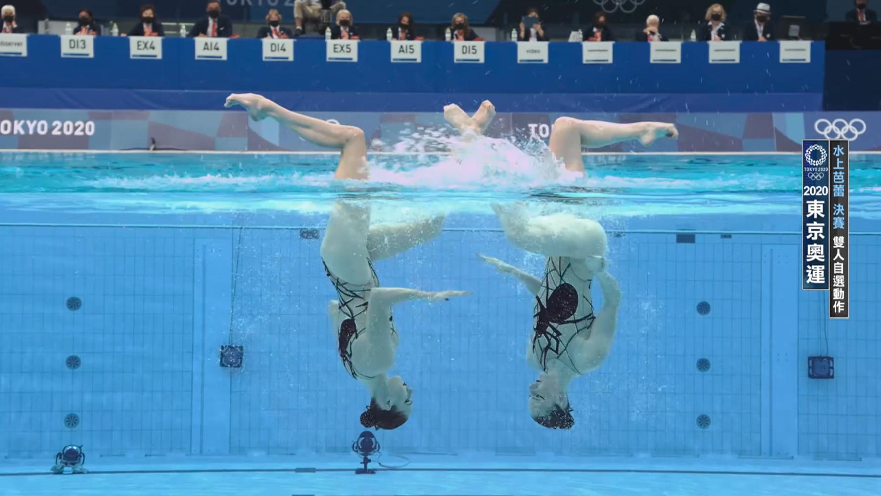 0804水上芭蕾_雙人自選動作
