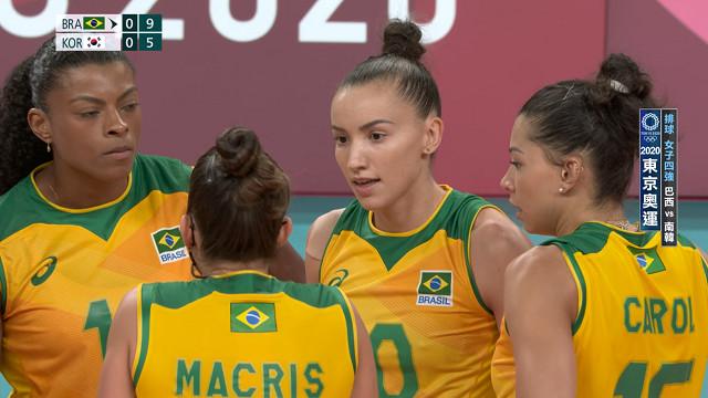 0806排球_女子四強_巴西VS南韓
