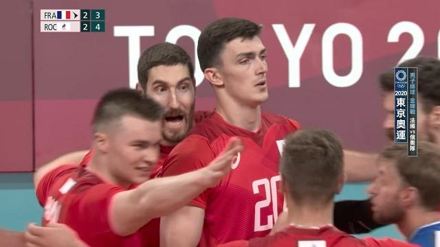 0807排球_男子金牌戰_法國VS俄奧隊_二