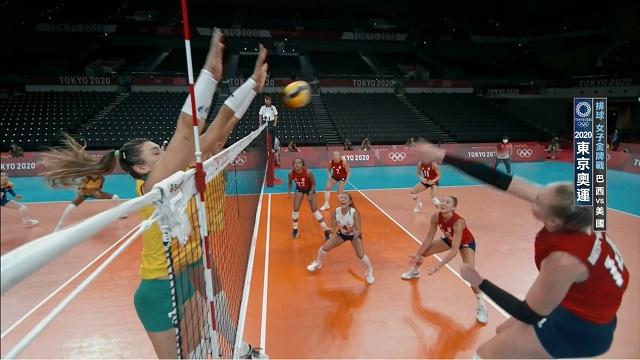 0808排球_女子金牌戰_巴西VS美國