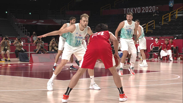 0729籃球_男子預賽_斯洛維尼亞VS日本