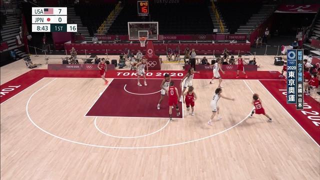 0730籃球_女子預賽_美國VS日本