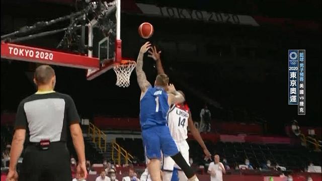 0731籃球_男子預賽_美國VS捷克