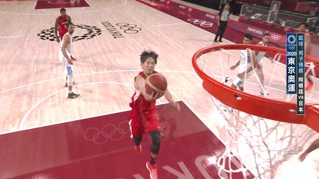 0801籃球_男子預賽_阿根廷VS日本