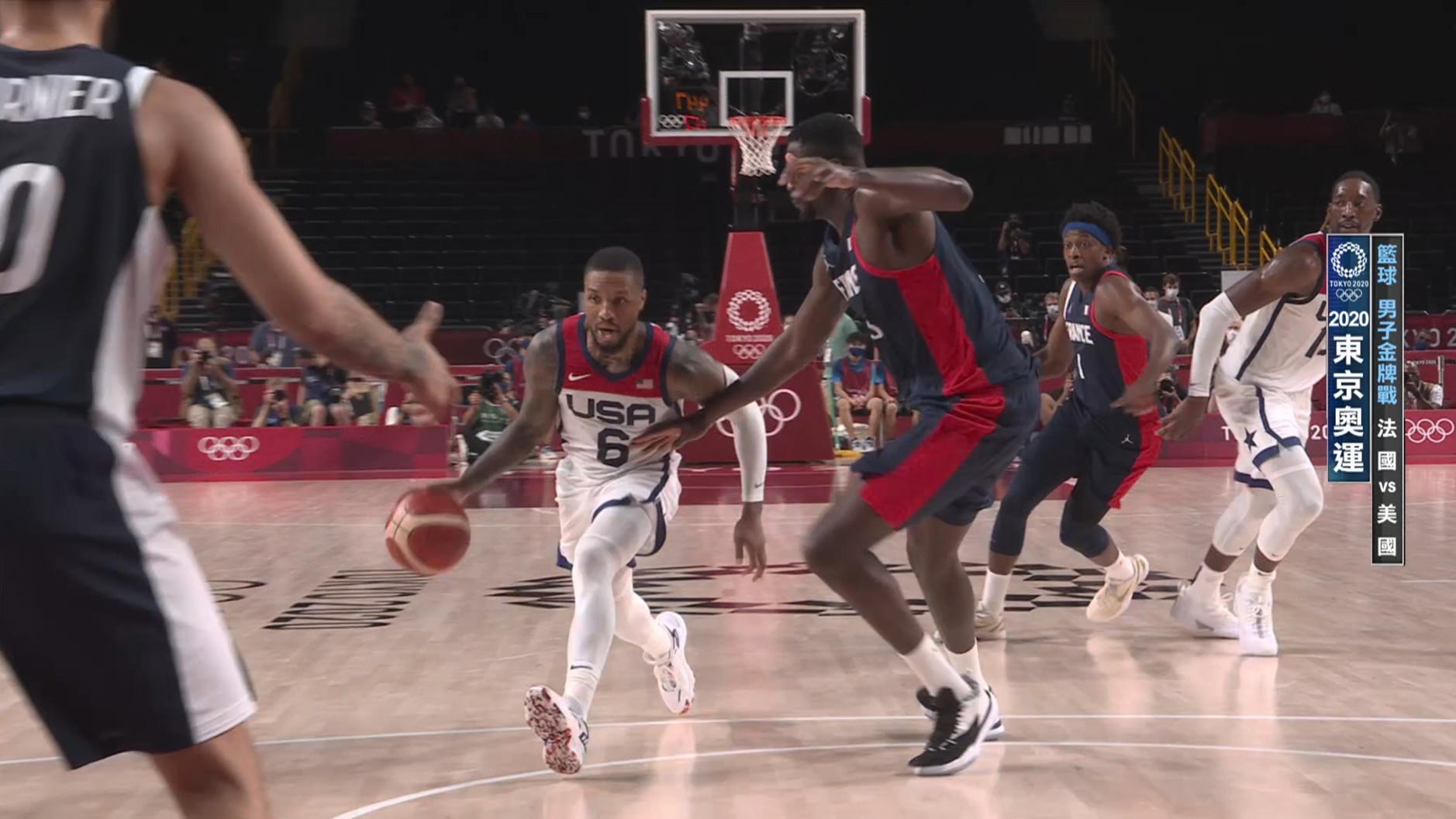 0807籃球_男子金牌戰_法國VS美國