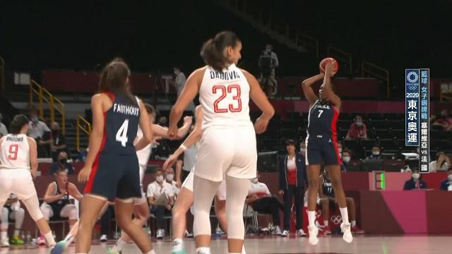 0807籃球_女子銅牌戰_塞爾維亞VS法國
