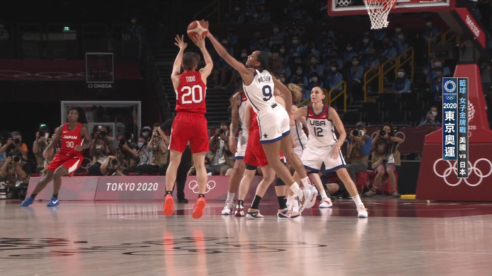 0808籃球_女子金牌戰_美國VS日本_二