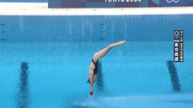 0805跳水_女子10M跳台決賽