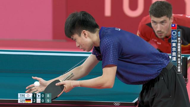 0803桌球_男子團體賽八強_台灣VS德國_二