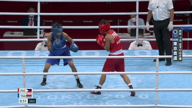 0729拳擊_女子51公斤16強_黃筱雯