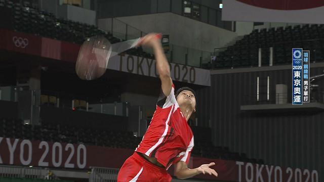 0802羽球_男單銅牌戰