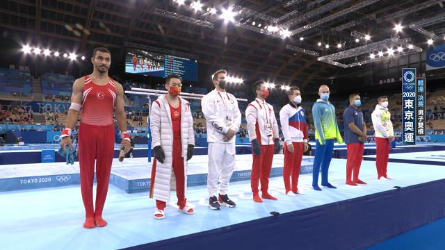 0803競技體操_男雙槓女平衡木決賽