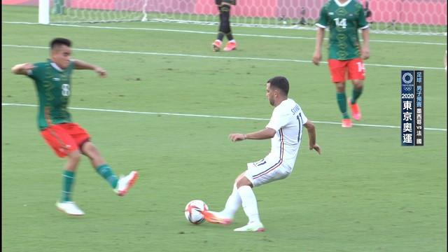 0722足球_男子預賽_墨西哥VS法國
