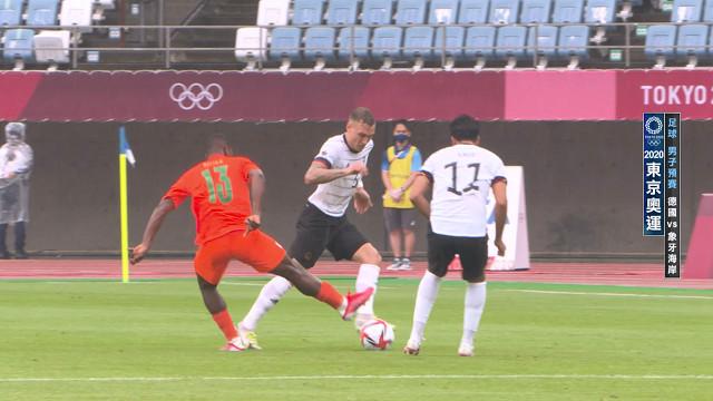 0728足球_男子預賽_德國VS象牙海岸
