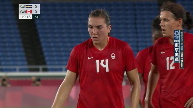 0806足球_女子金牌戰_瑞典VS加拿大_一