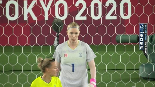 0806足球_女子金牌戰_瑞典VS加拿大_二