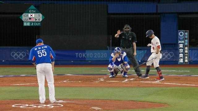0731棒球_預賽_南韓VS美國_二
