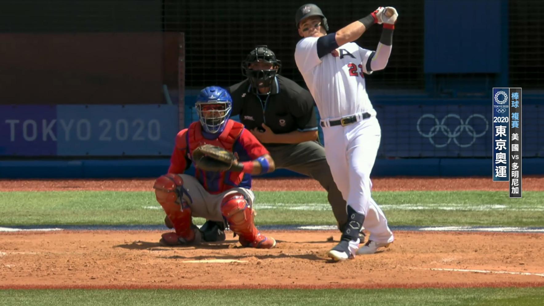 0804棒球_複賽_美國VS多明尼加_一