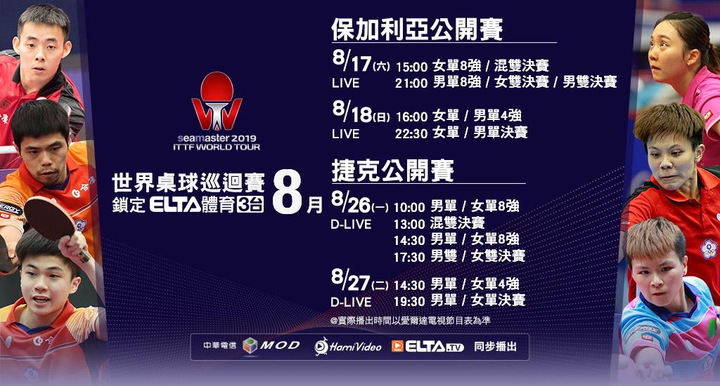 2019 ITTF世界桌球巡迴賽