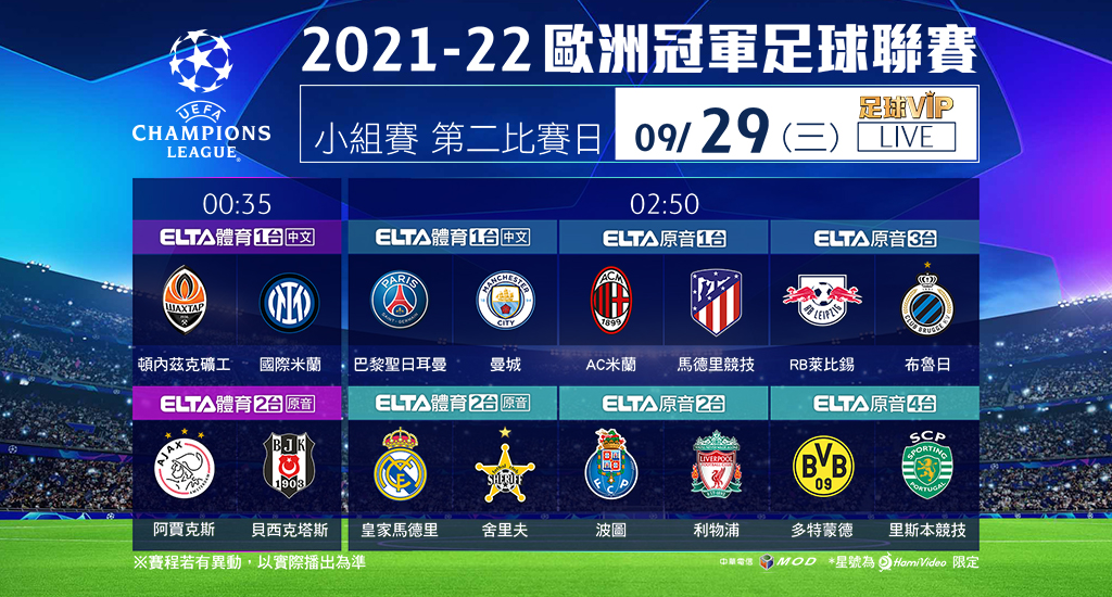 2021-22 歐洲冠軍足球聯賽