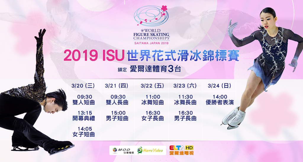2019 ISU世界花滑錦標賽