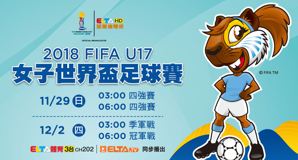 2018 FIFA U20女子世界盃