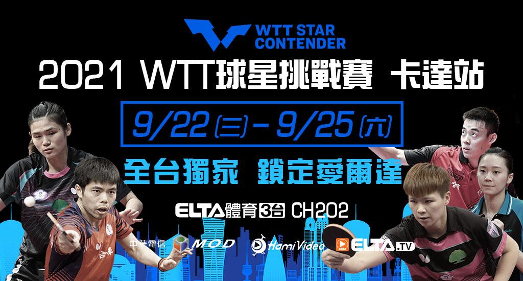 2021 WTT球星挑戰賽 卡達站