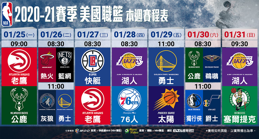 NBA美國職籃鎖定愛爾達體育1台