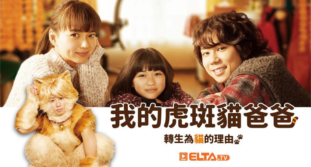 北山宏光轉生為貓,上演奇幻溫馨的家庭故事