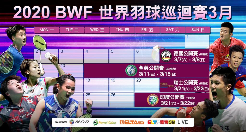 2020 BWF 世界羽球巡迴賽