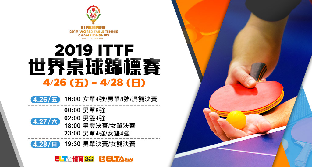 2019 ITTF 世界桌球錦標賽