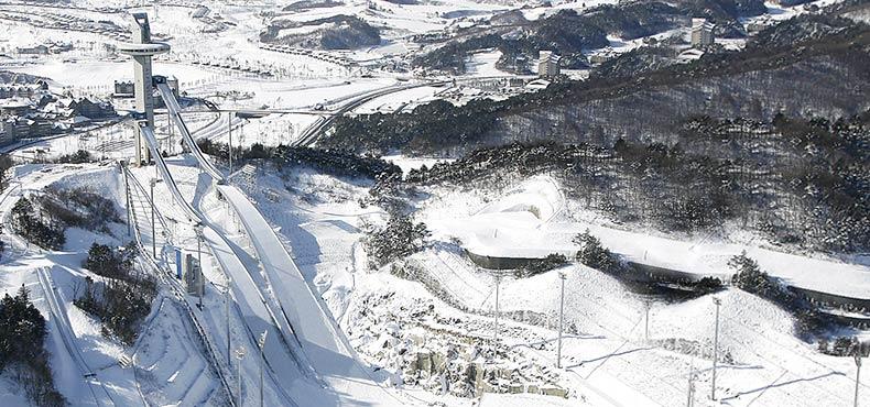阿爾卑西亞跳台滑行中心